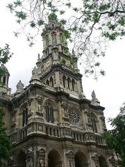 Eglise de la Trinité -  Eglise de la Sainte Trinite  天主聖三堂