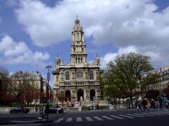 Eglise de la Trinité -  Église de la Sainte-Trinité de Paris, France.