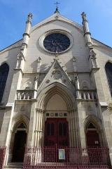 Eglise Saint-Eugène-Sainte-Cécile - English: Église Saint-Eugène-Sainte-Cécile, a Roman Catholic church located at 6 rue Sainte-Cécile in the 9th arrondissement of Paris. In 1983 it was designated as a monument historique in its entirety.