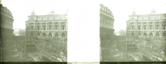 Grand Hôtel - Métropolitain: Construction de la station de métro place de l'Opéra