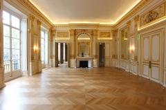 Ancien hôtel de Mercy-Argenteau - English: Hotel de Mercy-Argenteau - grand salon en direction de l'ouest