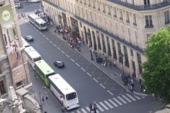 Immeubles aux abords de l'Opéra (voir aussi : 25, 27, 29, 31 bd Haussmann, Immeuble de la Société Générale) - Polski: Paryż w 2013