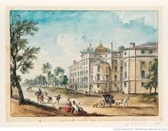 Immeuble ou ancien Hôtel de la Haye - French painter
