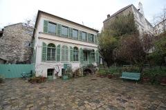 Hôtel Renan-Scheffer, actuellement musée de la vie romantique - English: Musée de la Vie romantique, Paris.