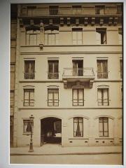 Maison construite par Viollet-le-Duc - French architectural photographer