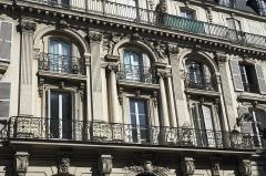 Immeuble - Deutsch: Rue de Douai n° 22 im 9. Arrondissement in Paris (Île-de-France/Frankreich)