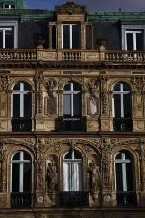 Immeuble ou hôtel de Bernis -  Paris. Hôtel de Bernis, 28 Place Saint-Georges.