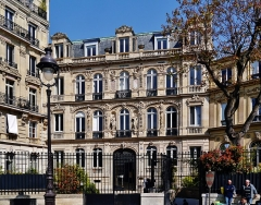 Immeuble ou hôtel de Bernis - Deutsch: Platz Saint-Georges, Paris, Region Île-de-France, Frankreich