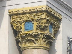 Magasin du Printemps - English: Capital of column of the stores