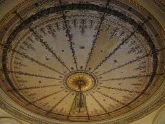 Mairie annexe du neuvième arrondissement - English: Town hall of the 9e arrondissement de Paris. Decoration of the ceiling of the antechamber.(dated around 1830)