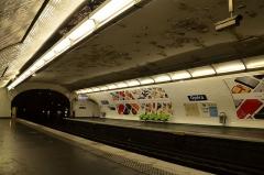 Métropolitain, station Opéra - Nederlands: Metrostation Opera in Parijs, 2014.