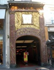 Musée Grévin (voir aussi : passage Jouffroy) -  Entrée principale du musée Grévin boulevard Montmartre.