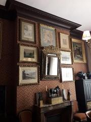Musée Gustave Moreau - Cabinet de réception de Gustave Moreau. Musée Gustave-Moreau, Paris, France.