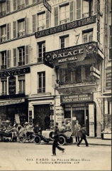 Le Palace - English: Le Palace Music-Hall, 8 rue Faubourg Montmartre, printed by LIP as a carte postale.