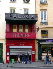 Le Palace - English: Faubourg-Montmartre street - Paris