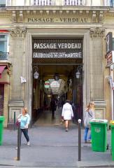 Passage Verdeau - English: Passage Verdeau - Paris