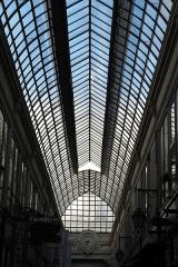 Passage Verdeau - Deutsch: Passage Verdeau, zwischen 6, rue de la Grange Batelière und 31 bis, rue du Faubourg Montmartre, im 9. Arrondissement in Paris