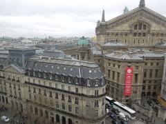 Immeuble de la Société Générale - English: Buildings, streets in Paris, France.