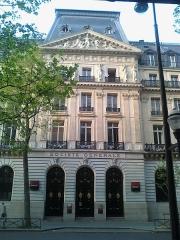 Immeuble de la Société Générale - English: Société Générale headquarters, boulevard Haussmann 9th arr in Paris