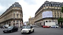 Immeuble de la Société Générale -  Traffic in opposite directions
