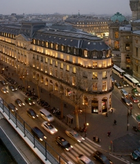 Immeuble de la Société Générale -  The view from the roof of Galeries Lafayette.