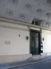 Square d'Orléans (ou Cité des Trois-Frères) - English: 9, Square d'Orléans: Paris 9th arr.