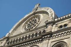 Synagogue - Deutsch: Große Synagoge oder Synagogue de la Victoire, 44, rue de la Victoire im 9. Arrondissement von Paris
