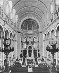 Synagogue -  Inside the Great Synagogue of Paris (Rue de la Victoire)