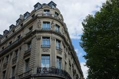 Théâtre Edouard VII et immeubles -  Paris