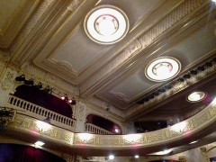 Théâtre Edouard VII et immeubles -  Paris Theatre Edouard VII Salle 02042016