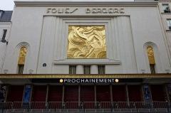 Théâtre des Folies-Bergère -  Folies Bergère, Paris.