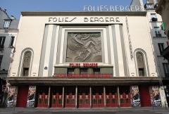 Théâtre des Folies-Bergère - English: Facade of Folies Bergère