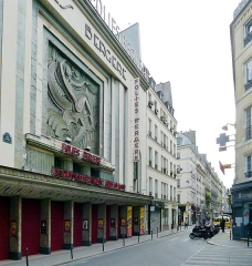 Théâtre des Folies-Bergère - English: Richer street (Folies Bergères) - Paris