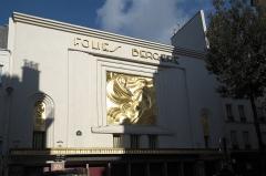 Théâtre des Folies-Bergère - Deutsch: Folies Bergère in der Rue Richer n° 32 im 9. Arrondissement in Paris