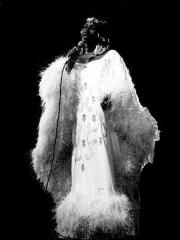 Théâtre de l'Olympia - English: Singer Celia Cruz in Paris, France.