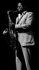Théâtre de l'Olympia - English: American tenor saxophone player Herb Hardesty in Paris, France