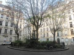 Cité Trévise - English: Square Cité de Trévise: Paris 9th arr.
