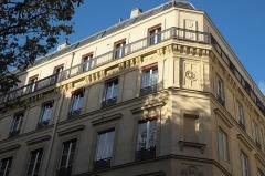 Cité Trévise - Deutsch: Gebäude, Cité de Trévise, im 9. Arrondissement in Paris (Île-de-France/Frankreich)