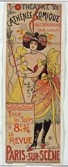 Théâtre de l'Athénée - Louis-Jouvet -  Théâtre de l'Athénée-Comique, Rue Boudreau (rue Auber), Tous les soirs à 8h 3/4: la revue