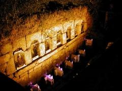 Fontaines dites du Coq, de la Vierge et des Sept Saints de Bretagne - Brezhoneg: Bulad-Pestivien. Feunteun ar Seizh Sant