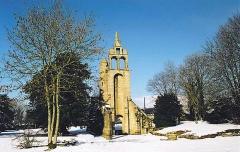 Restes de l'église Notre-Dame de Botmel - Brezhoneg: Kallagc 22. Erc'h. 2004-02-29-6
