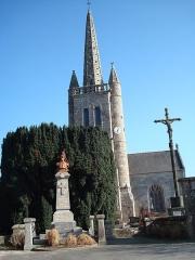 Eglise Saint-Chéron - Brezhoneg: Iliz Kawan luc'hskeudennet eus tu an ti-kêr