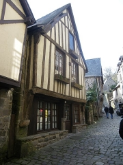 Maison -  maison ancienne rue du jerzual a dinan