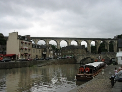 Vieux pont - English: Bridges over Rance river in Dinan (France, Brittany)