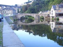 Vieux pont -  Dianan, Bretagne; Frankreich;