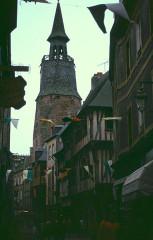 Tour de l'Horloge -  Cotes-D Armor Dinan Beffroi