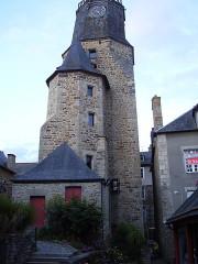 Tour de l'Horloge -  Dianan, Bretagne; Frankreich;