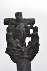Croix de calvaire - English: Calvary of Louais street (Saint-Quay-Portrieux, Brittany),