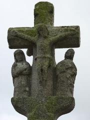 Croix - Français:   Croix située à proximité de l\'église mais hors de l\'enclos.