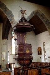 Eglise Saint-Jean - Français:   Chaire du XVIIIe, classée à titre d\'objet le 12 janvier 1971.